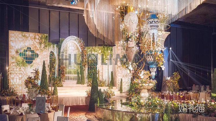 广州保利洲际酒店-广州保利洲际酒店-水晶宴会厅1-舞台1
