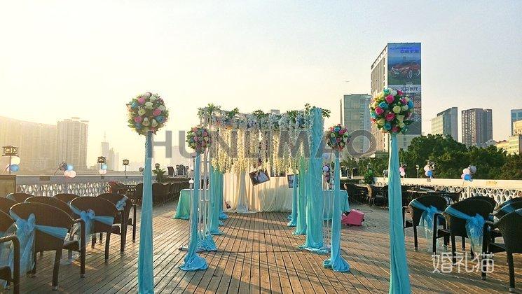 蓝海豚水上婚礼会所-