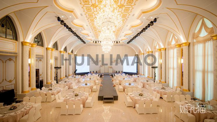 玫瑰庄园婚礼会馆-玫瑰庄园婚礼会馆-巴黎璀璨厅-全场2