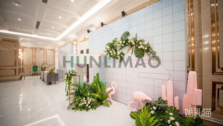 玫瑰庄园婚礼会馆-玫瑰庄园婚礼会馆-波尔多厅-迎宾区