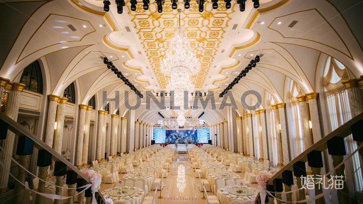玫瑰庄园婚礼会馆-玫瑰庄园婚礼会馆-巴黎璀璨厅-全场3