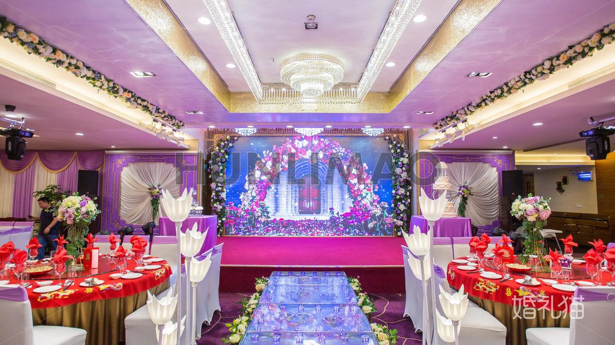 臻品轩婚礼会所-臻品轩婚礼会所--龙凤厅-舞台1