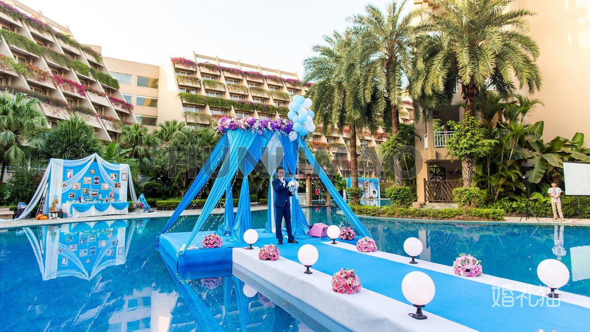 广州长隆酒店-广州长隆酒店-泳池-仪式亭1