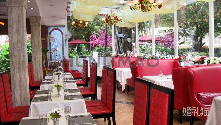 沙面玫瑰园西餐厅-沙面玫瑰园-室内-全场2