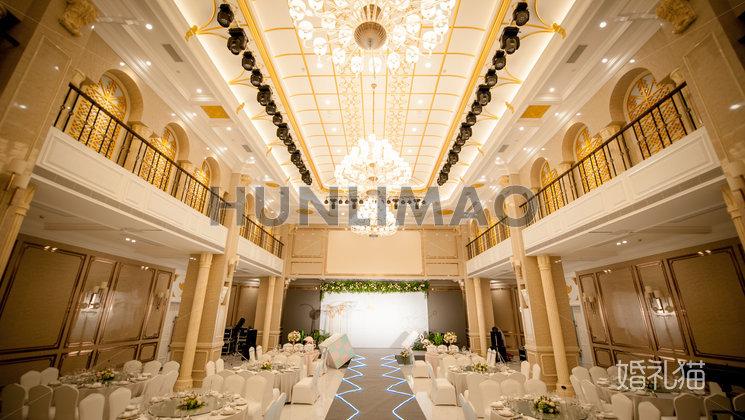 玫瑰庄园婚礼会馆-玫瑰庄园婚礼会馆-波尔多厅-全场2