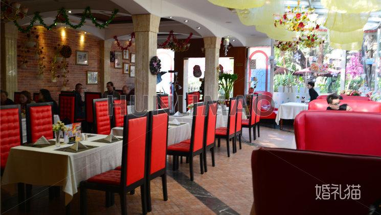 沙面玫瑰园西餐厅-沙面玫瑰园-室内-全场1