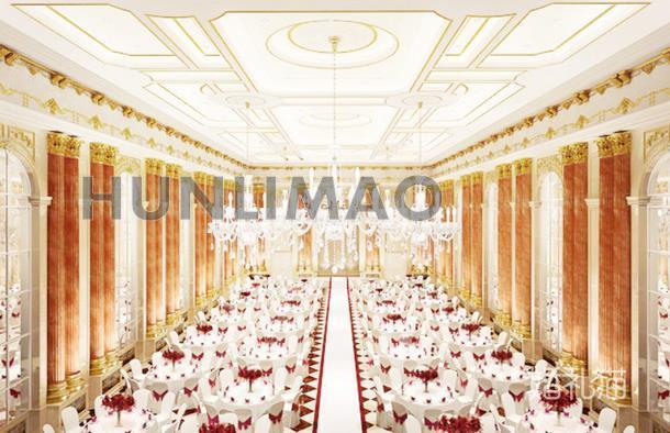 罗曼园高级婚礼会馆虹桥巴黎印象馆-
