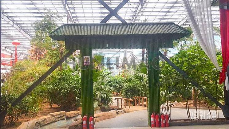 幸福绿洲生态美食广场-