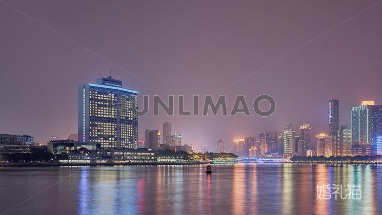 白天鹅宾馆-白天鹅宾馆-夜景
