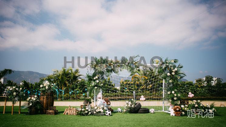 玫瑰庄园婚礼会馆-玫瑰庄园婚礼会馆-户外婚礼迎宾区