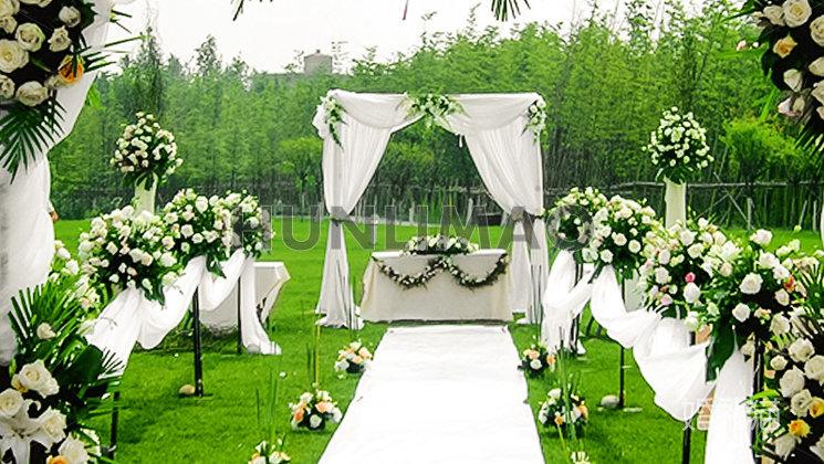 合聚传媒金河湾湿地草坪婚礼-
