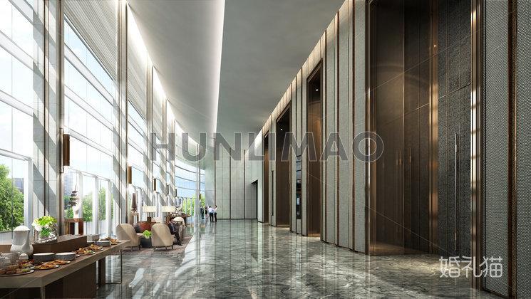广州保利洲际酒店-广州保利洲际酒店-长廊
