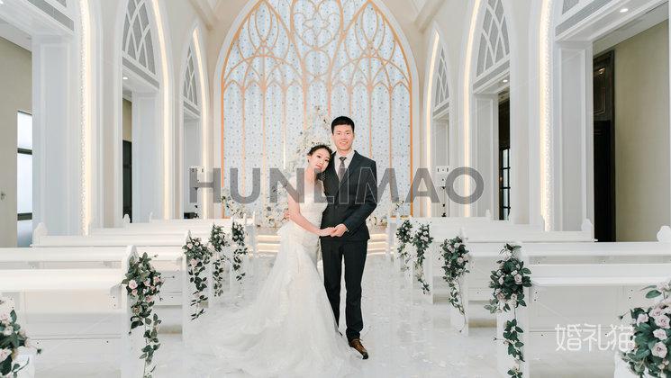 玫瑰庄园婚礼会馆-玫瑰庄园婚礼会馆-拾光仪式堂1
