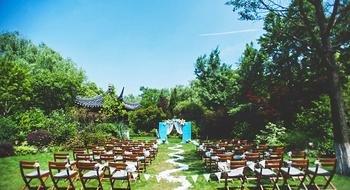龙圣时代麦田婚礼会所草坪婚礼