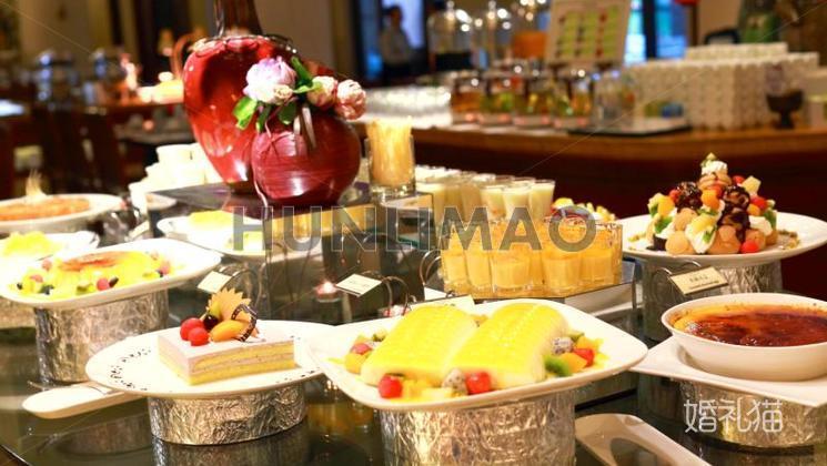 美林湖温泉大酒店-美林湖温泉大酒店-甜品区