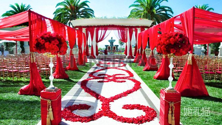 龙圣时代麦田婚礼会所草坪婚礼-