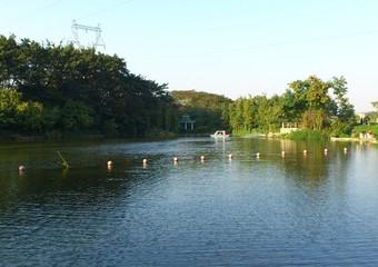 深圳婚纱摄影景点-东湖公园